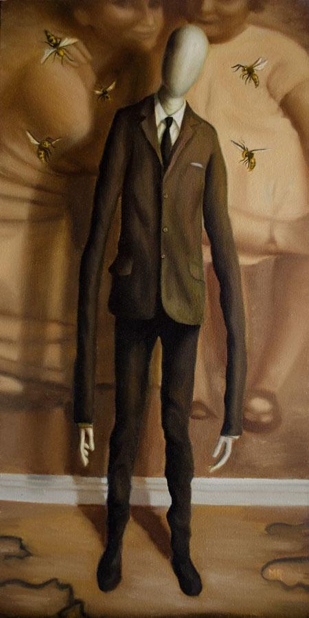 magas férfi